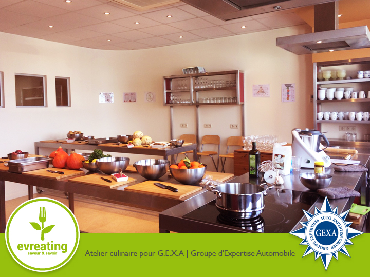 Atelier culinaire pour GEXA